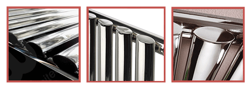 Close ups of our Brecon chrome radiator
