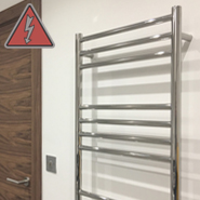 Stainless Steel Electric Ladder Rails
