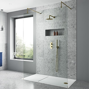 Single Wall (Panoramic) Shower Enclosures