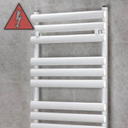 Designer White Electric Towel Rails