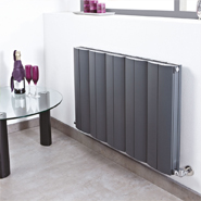 Horizontal Anthracite Radiators