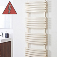 Designer Coloured Electric Towel Rails