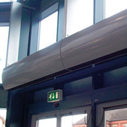 Electric Air Curtains