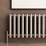 Horizontal Chrome Radiators