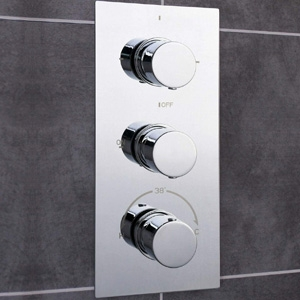 Triple Function Shower Valves
