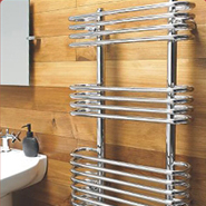 Designer Chrome Towel Rails
