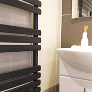 Designer Black Towel Rails