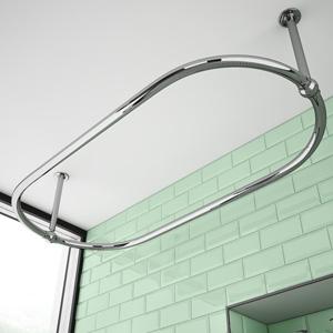 Shower Curtain Rails