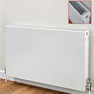 Horizontal Flat Double Panel Radiators