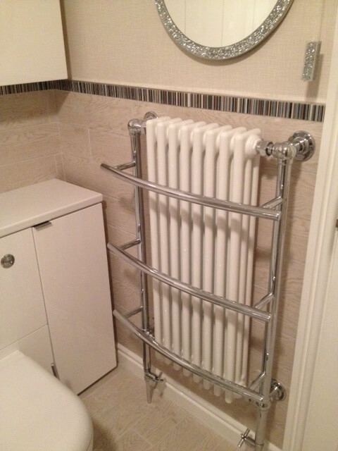 Tranmere traditional towel rail
