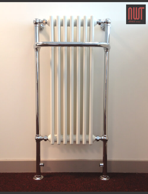 Abbey traditional towel rail radiator