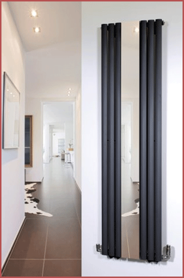 The Brecon Black installed in a hallway.
