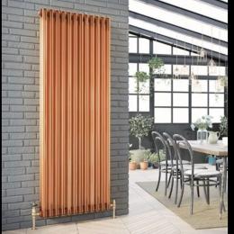 Beautiful copper column radiator #vintage #traditional #radiator #heat #design #designer #tradition