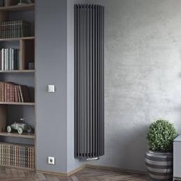 Corner designer radiator fitting into this room perfectly #columnradiator #columnradiators #interior #interiordesign #newhome #decor #interiorinspo #decorinspo #plumbing #plumbinglife